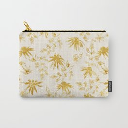 Golden daisies Carry-All Pouch