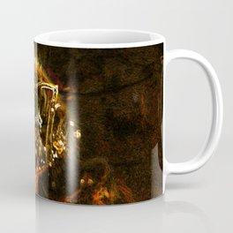 neon bee Coffee Mug