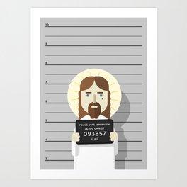 Jesus's arrest Art Print