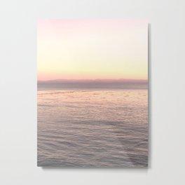 Pink Pacific Metal Print