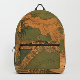 Historical Map of Panama Backpack