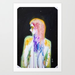 I am Goddess Art Print