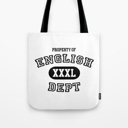 Property of the English Department Tote Bag