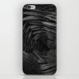 Leaf Vine (Black and White) iPhone Skin