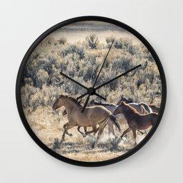 Running Mustangs, No. 1 Wall Clock