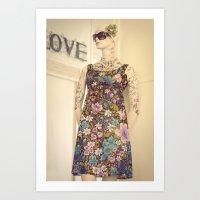 vogue Art Prints featuring Vogue by Carol Knudsen Photographic Artist