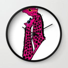 Jirafa cool Wall Clock