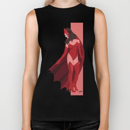 Scarlet Witch Biker Tank