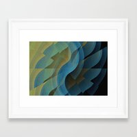 wings Framed Art Prints featuring Wings by David Lee
