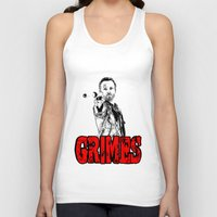 rick grimes Tank Tops featuring Walking Dead - Rick GRIMES  by High Design