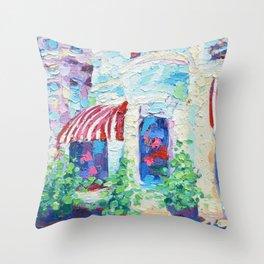 P Street Rowhouses Throw Pillow