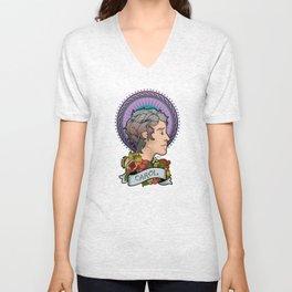 Queen Carol Unisex V-Neck