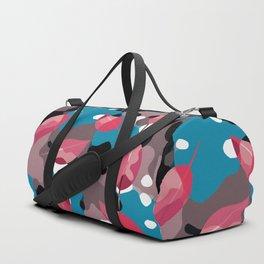 Red Leaves Camo Duffle Bag