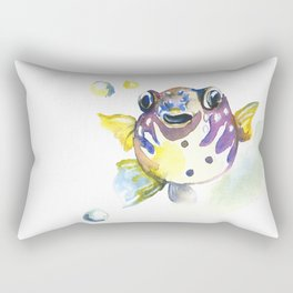Blowfish Rectangular Pillow