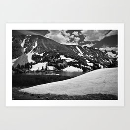 Lake Isobelle, Colorado, 2010. Art Print
