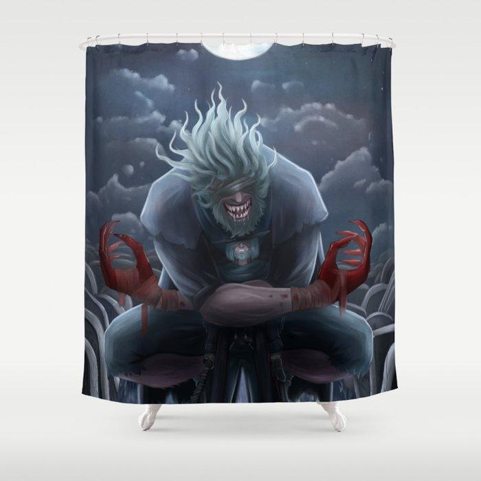 Beast's Embrace Shower Curtain