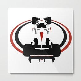 BAR 006 Formula 1 Metal Print