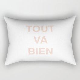 All Is Well Rectangular Pillow