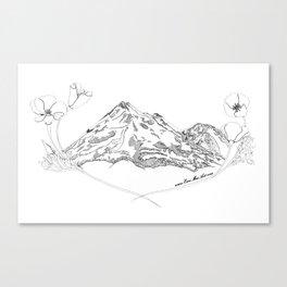 Shasta Poppies Canvas Print
