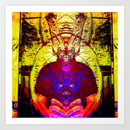 Harvey the Pooka Art Print