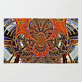Subconscious Healing Frequency Rug