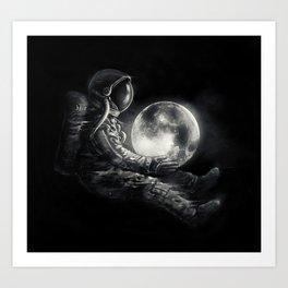 Moon Play Art Print
