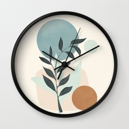 Azzurro Shapes No.53 Wall Clock