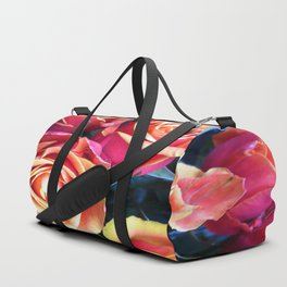 Bed of Roses Liberty of London flower market Duffle Bag