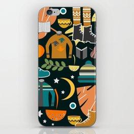 Autumn clothing iPhone Skin