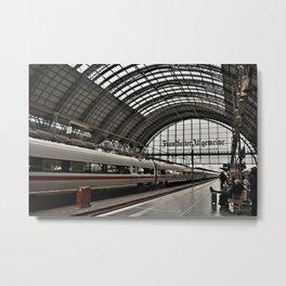 Germany Station Metal Print