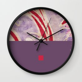 pink&violet2 Wall Clock