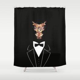 Flowers clerk Shower Curtain