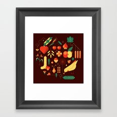 Countrylife #1 — Earth Framed Art Print