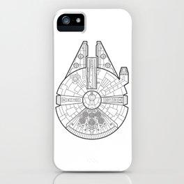 Millenium Falcon. iPhone Case