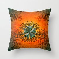 decorative Throw Pillows featuring Decorative design by nicky2342