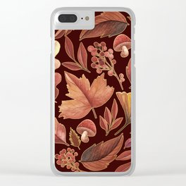 The Winds Of Autumn Have Returned Clear iPhone Case