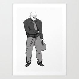 Mike Ermantraut  Art Print