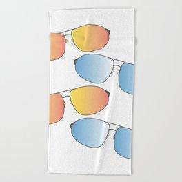 Aviators Beach Towel