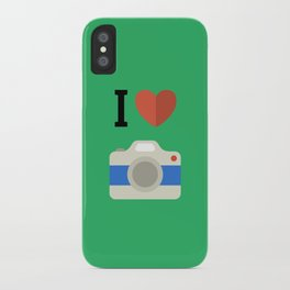 I love photography iPhone Case