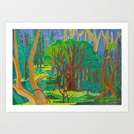 Il Bosco (The Forest) Art Print