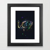 Manimals - Genesh Framed Art Print