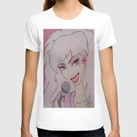 jem T-shirts featuring Jem and the Holograms  by DustyRoseArt