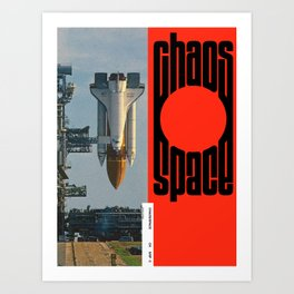 Chaos/Space Art Print