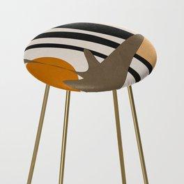 Abstract Art2 Counter Stool