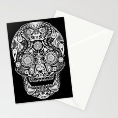 Mexican Halloween Stationery Cards