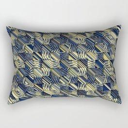 abstra shells Rectangular Pillow