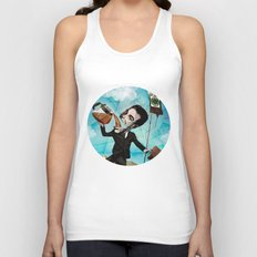 Superheroes SF - For the love of Coffee Unisex Tank Top