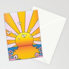 California Sunshine LSD Blotterart Stationery Cards