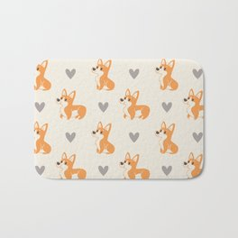 Corgi Pups Bath Mat