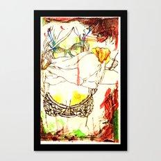 Tease. . . Canvas Print